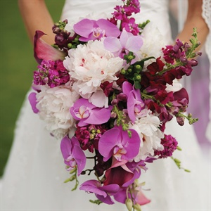 Orchid Bridal Bouquet!